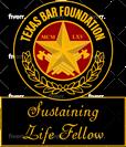 Texas Bar Sustaining Life Fellow